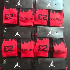 Jordan 2Pack 23 City High Crew Socks